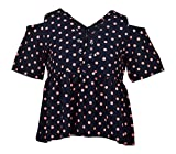 LADY HEART Women's Top (VK11--XL, Navy Blue, X-Large)