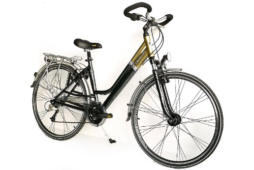 28 KCP CITY BIKE ALLOY BICYCLE ESTATE WOMEN 24 SPEED SHIMANO DEORE   (28 INCH)