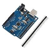 Tree-on-Life Placa de Desarrollo R3 ATmega328P 5V con Cargador de Arranque CH340G USB para Conectores Arduino UNO y Conectores de terminales