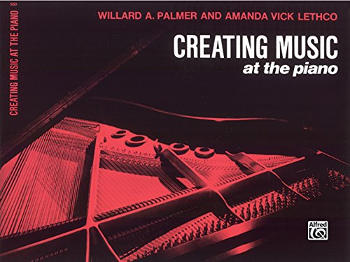 Creating Music at the Piano Lesson Book, Bk 1 por Willard Palmer