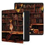 Ayotu Hülle für Kindle Oasis 7 Zoll(9th Gen.- 2017 Modell) eReader Honeycomb Soft Shell Wasserdichte Schutzhülle Tasche mit Auto Schlaf/Wach für Amazon 7