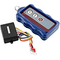 Sedeta OEM Blue 12V DC 50ft Waterproof Wireless Remote Control Kit For Car Truck Jeep ATV Vehicle Winch 50FT Auto Accessories