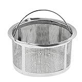D DOLITY Abflusssieb Siebkorb Siebkörbchen Haarsieb für Küche Spüle - 4 cm