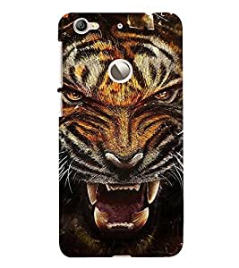 FIOBS fiercy roaring tiger Designer Back Case Cover for LeEco Le 1s ECO