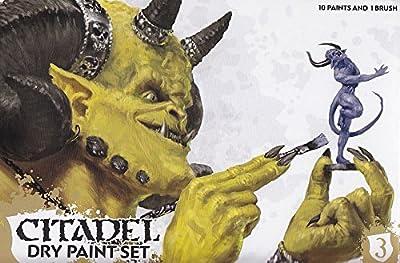 Warhammer : Boite de peinture dry citadel