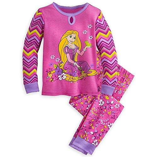 Shop Prinzessin Tangled Rapunzel M?dchen 2PC Langarm Pyjama Set Gr??e 5 (Prinzessinnen Disney Langarm-pyjamas)