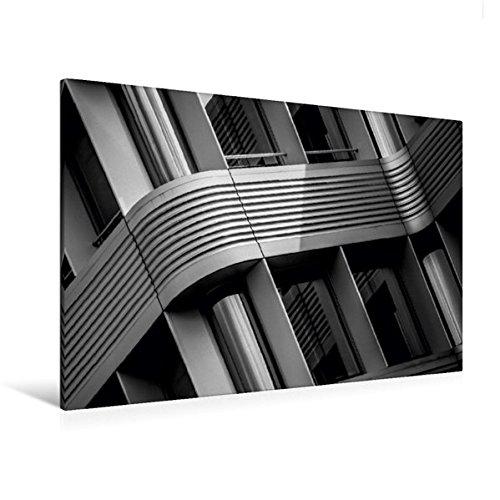 Premium Textil-Leinwand 120 cm x 80 cm quer, Zürich, Stadtverwaltung | Wandbild, Bild auf...