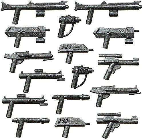 es Waffenset: Set 7 mit verschiedenen Blastern und Gewehren. (Star Wars Lego-sets Clone Wars)