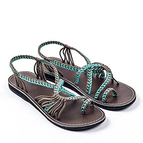 Zapatos Mujer Verano 2019 Sandalias Planas - Talla