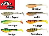 7 Fox Rage Mini Fry 7cm - Gummifische zum Spinnfischen auf Zander & Barsch, Barschköder, Gummiköder, Gummishad zum Spinnangeln