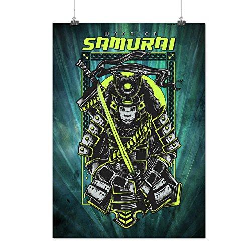 Kostüme Weibliche Mörder (Samurai Mörder Mode Mattes/Glänzende Plakat A3 (42cm x 30cm) |)