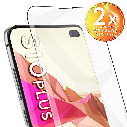 UTECTION 2X UV Panzerglas für Samsung Galaxy S10 Plus (6.4