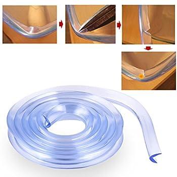 Kantenschutz Eckenschutz, 2 M Länge Tischkante Kissen Beschützer, Baby Schutz Aus Weichem Schaumstoff (Nbr) Selbstklebend L-form 6