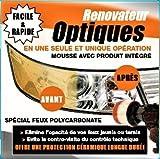 PADXPRESS OPTIQUES KIT rénovation Optique de Phares