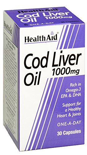Healthaid Cod Liver Oil 1000 mg - 30 Capsules