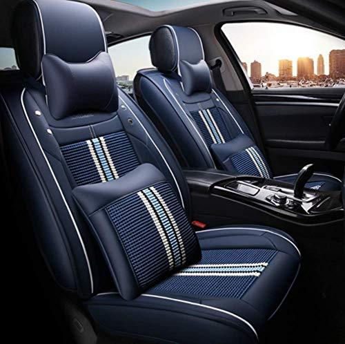 Car Seat Cover, Car Styling for BMW F10 F11 F15 F16 F25 F25 F30 F34 E60 E70 E90 1 3 4 5 7 Serie GT X1 X3 X4 X5 X6,Blue