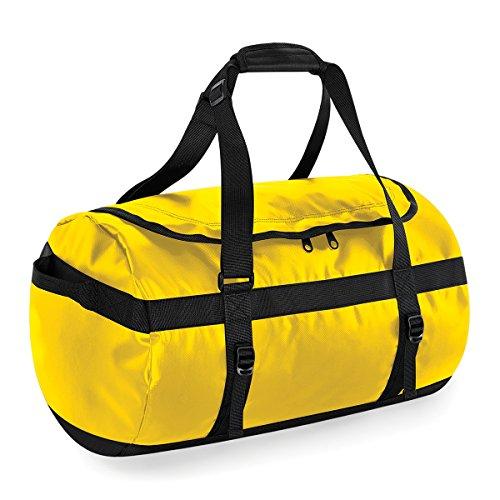 BagBase Borsone da Viaggio Tarp 50 litri duffle 53x33x33cm Yellow