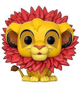 Figurine Pop ! Disney 302 - Le Roi Lion - Simba (Crinière de feuilles)
