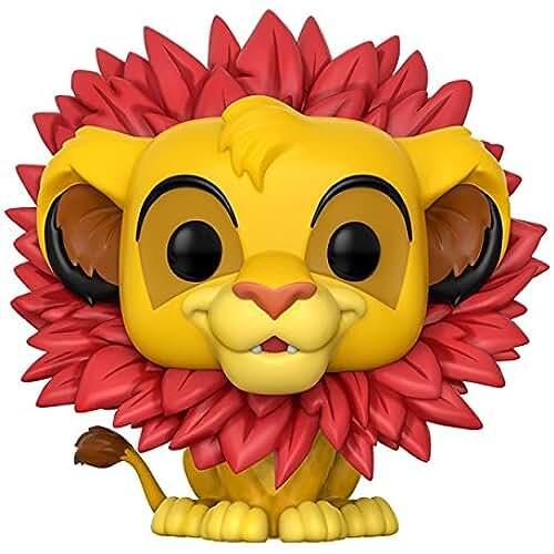 munecos pop kawaii El Rey León - Figura de vinilo Simba, coleccion Disney (Funko 20094)