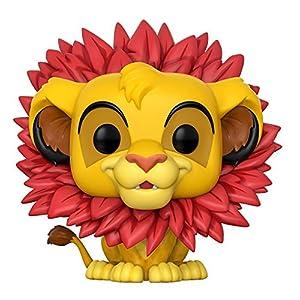 El Rey Len Figura de vinilo Simba coleccion Disney Funko 20094