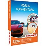 Emozione3 - Cofanetto Regalo - VOGLIA D'AVVENTURA - 2100 attività sportive o di svago tra Rafting, parapendio, motori