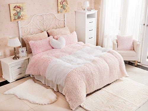 velluto di cashmere Paragrafo copriletto denim letto di lusso in cashmere letto pacchetto gonna 1.5-1.8m , C , queen