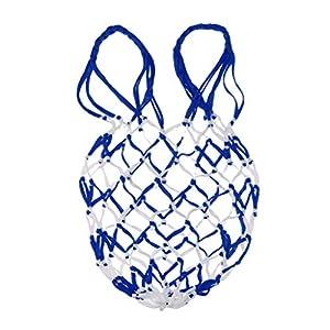 CUTICATE Mesh Ball Bag Basketball Ball Carry Speichernetz Tasche Für Einzelne Sportball