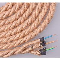 EDM Cable de Cuerda de Yute Trenzado 3x0.75 ø12mm