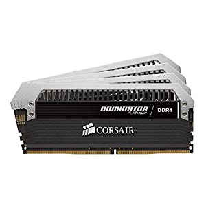 Corsair Dominator Platinum DDR4 32 GB (4 x 8 GB) 2666 MHz C16 XMP 2.0 Enthusiast Desktop Memory Kit