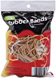 A & W Office Supplies Rubber Bands .25lb-Tan - Assorted Sizes