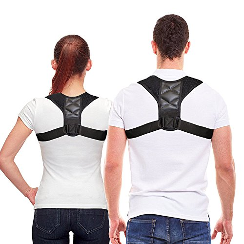 Minmin.Y Sports Geradehalter Zur Haltungskorrektur Inkl.Ebook FüR Eine Gesunde Haltung, Schultergurt, Ideal Zur Therapie FüR Haltungsbedingte Nacken, RüCken Und Schulterschmerzen