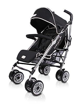 Baby Luxe 3022000200002 - Silla de paseo, chasis brillo, base negro
