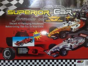 SUPERIOR CAR (3 Exclusive Formula Car with accessories)