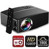 Beamer 1800 Lumens Full HD 1080P