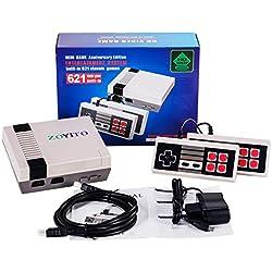 Console de jeu classique HDMI Jeux rétro classique Mini console de jeux Construit en 600 TV Jeu vidéo avec double contrôleur