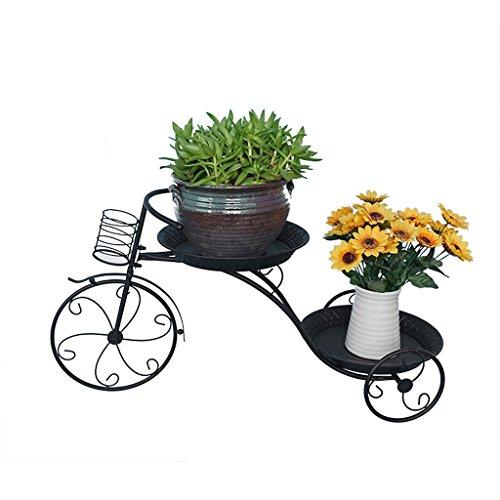 PLL Style européen Fer Art Fleur Stand Plancher Balcon Intérieure et Extérieure Salon Décoratif Plante Rack