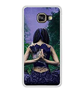 ifasho Designer Back Case Cover for Samsung Galaxy A7 (6) 2016 :: Samsung Galaxy A7 2016 Duos :: Samsung Galaxy A7 2016 A710F A710M A710Fd A7100 A710Y :: Samsung Galaxy A7 A710 2016 Edition (Yoga Seoul South Korea Yoga Outfit For Girls)
