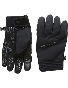 Quiksilver Method - Guantes nieve para hombre, color negro, talla L