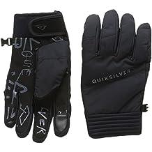 Quiksilver Method - Guantes nieve para hombre, color negro, talla M