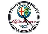 Wanduhr Mit Alfa Romeo 2