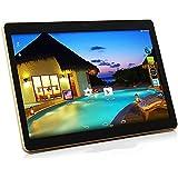 "Hanbaili Tablet Pc 3G 10""Tablet Pc Mt6582V Octa Core 1Gb Ram 32Gb 16Gb Rom Android 5.1 Gps Dual Camera 12 Million Pixels Rear Front 800 Million Pixels Black+UK Plug"