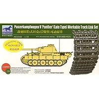 Unbekannt Bronco Models AB3540–Juego de construcción zubehrö Panther Late Type workable Track Link Set