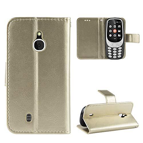 Oujiet-eu HF Custodia per Nokia 3310 3G 2 Custodia Case Cover
