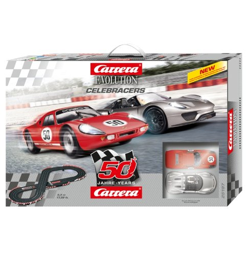 Preisvergleich Produktbild Carrera Evolution feiert 50th Anniversary Edition Racing Set