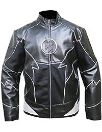 Man Steve McQueen Le Mans White//Black Gulf Cordura Cotton Fabric Jacket