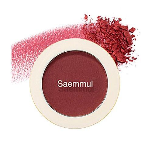 (6 Pack) the SAEM Saemmul Single Blusher RD02 Dry Rose