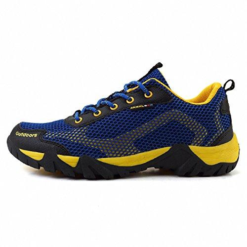 Ben Sports Scarpe all'aperto Scarpe da trekking Scarpe da corsa da uomo donna Blu