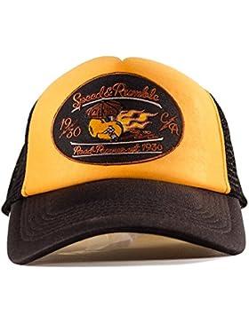 Trucker Cap, Baseball Cap, Schirmmütze, Kappe, Verstellbar, Road Rodeo Patch