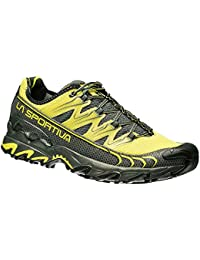 La Sportiva Ultra Raptor, Scarpe da Trail Running Uomo, Multicolore (Black/Apple Green 000), 39 EU