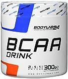 Bodylab24 BCAA Drink, Aminosäure Pulver, Geschmack: Wassermelone, Leucin, Isoleucin und Valin im Verhältnis 2:1:1, hochdosiertes BCAA Pulver zum Muskelaufbau, 300g Dose